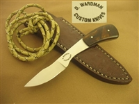 WARDMAN DAVE FIXED BLADE KNIFE   SOLD