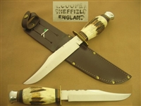 R. COOPER FIXED BLADE KNIFE   SOLD