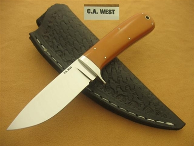 C A WEST Fixed Blade