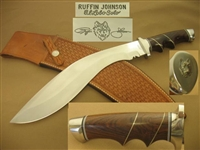 RUFFIN JOHNSON KUKRI KNIFE