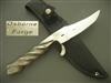 OSBORNE FORGE FIXED BLADE KNIFE   SOLD
