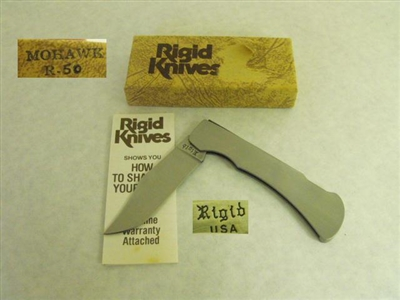 www.michigancustomknives.com RIGID KNIVES