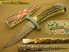 BRODZIAK DAVID MOSAIC DAMASCUS ART KNIFE