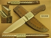 DAVID SHAW ENGRAVED KNIFE