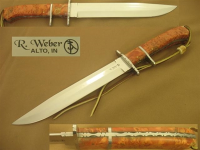 webber handmade knives sub hilt fighter by richard weber us navy submariner retired 9612