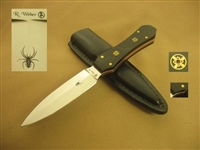 R. WEBER FIXED BLADE DAGGER   SOLD
