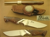 D'HOLDER RARE AMARILLO S GUARD KNIFE   SOLD