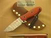 BUSSE GAME WARDEN RED FIREMEN KNIFE.     SOLD