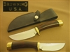 VINTAGE BROWNING HUNTING KNIFE GIL HIBBEN DESIGN. SOLD