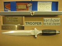 KERSHAW TROOPER, DAGGER, STILETTO, FIGHTING KNIFE. SOLD