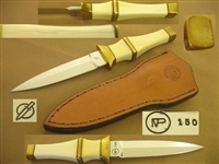 PHITHUME VILLY IVORY BOOT KNIFE DAGGER.  SOLD