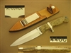 RAY COVER SEMI SUB-HILT FIGHTING KNIFE    SOLD