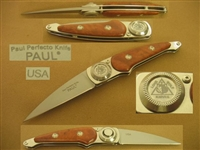 LONE WOLF PAUL PERFECTO FOLDING KNIFE    SOLD