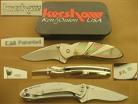 KERSHAW KEN ONION CHIVE KS1600B FOLDING KNIFE SOLD