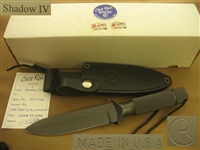 CHRIS REEVE SHADOW 1V SURVIVAL KNIFE   SOLD