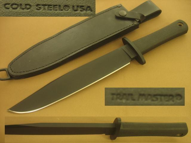 VINTAGE COLD STEEL TRAIL MASTER KNIFE SOLD
