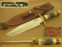 RANDALL MODEL 12 SPORTSMAN BOWIE STAG   SOLD