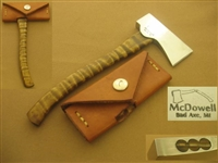 LEE MCDOWELL MARBLE'S #5 HATCHET, AXE   SOLD