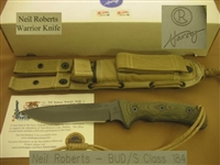 CHRIS REEVE NEIL ROBERTS WARRIOR KNIFE SOLD